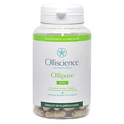 Ollipure , gélule, Desmodium, Artichaut, N-acétyl L-cystéine, Acide alpha-lipoïque, Pissenlit, détox